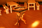 <h5>Handmade wooden fire</h5>