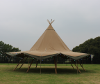 <h5>Tepee set up </h5>