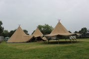 <h5>3 tepee set up</h5>