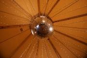 <h5>Ceiling globe centrepiece</h5>