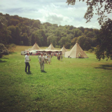 <h5>Tipi in field 2015</h5>