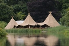 Three Tipi's