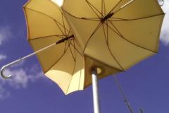 Cream Parasol