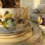 Authentic vintage wedding china