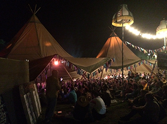 tepees bestival